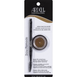 ARDELL Brow Pomade Brush MEDIUM BROWN  PRO