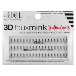 FAUX MINK 3D INDIVIDUALS - Short Black